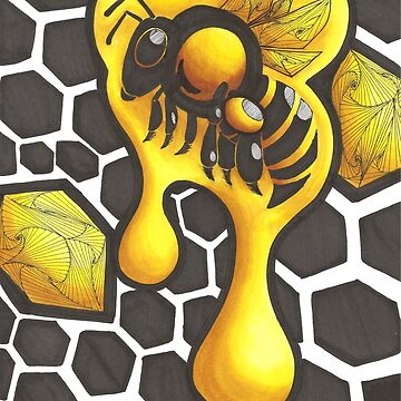 Honey bee by scratchmarks
