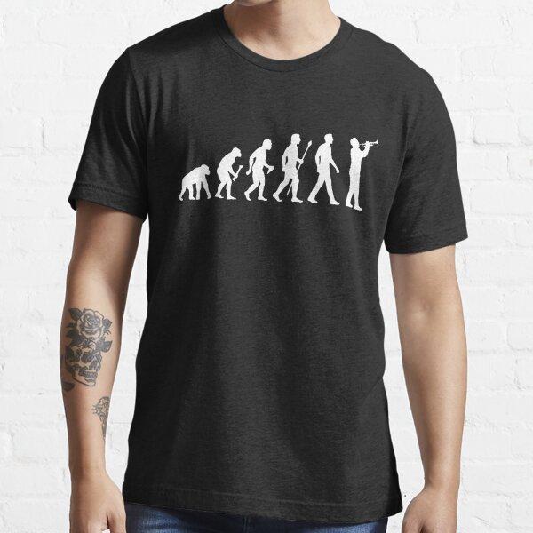 Trumpet Evolution Of Man Essential T-Shirt