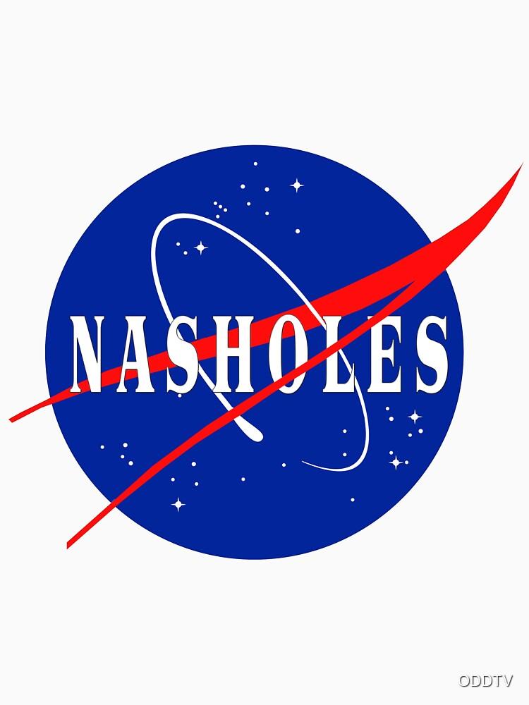 NASA NASHOLES Logo by ODDTV