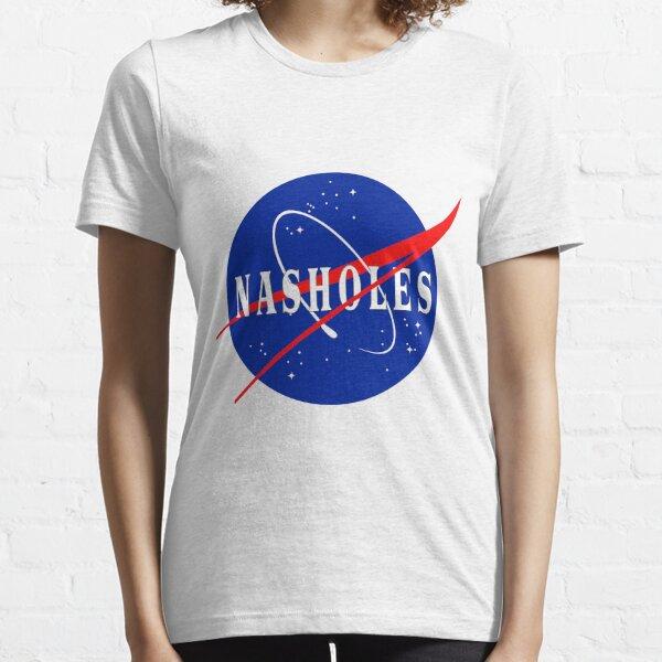 NASA NASHOLES Logo Essential T-Shirt