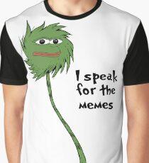 I speak for the memes Graphic T-Shirt