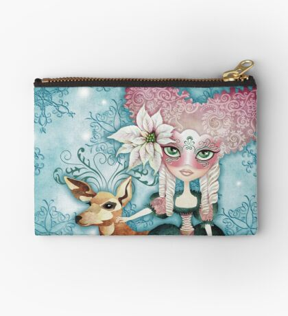 Noelle's Winter Magic Zipper Pouch