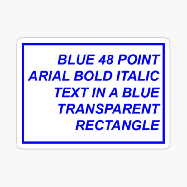 Funny Aesthetic Text Sticker