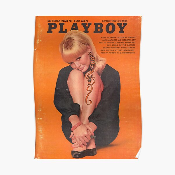 Playboy October 1966 Poster