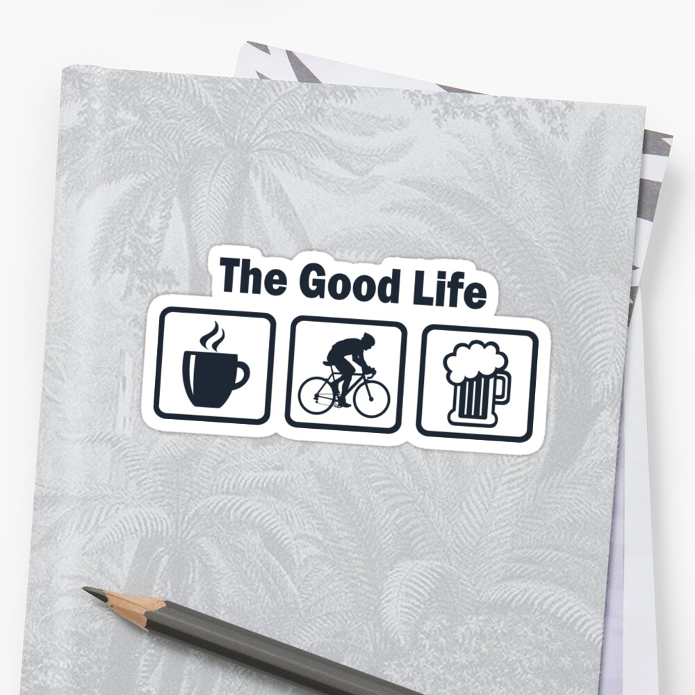 Funny Cycling The Good Life by BeyondEvolved