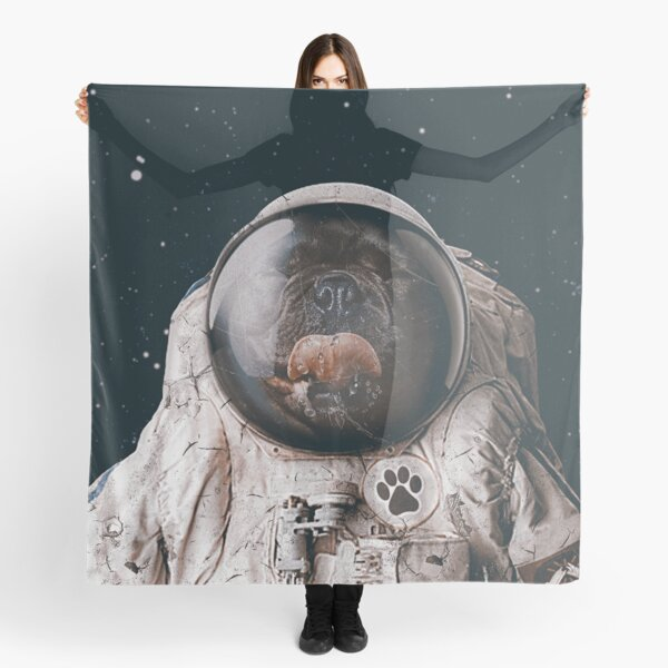 Space Dog Scarf