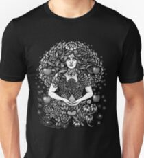 Divine Mother Gea Tree / BW T-Shirt
