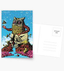 The Overbird Postcards