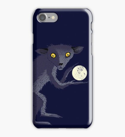 Aye Aye Steals the Moon iPhone Case/Skin