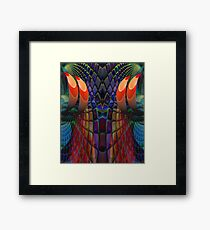 Wizzard threads! Framed Print