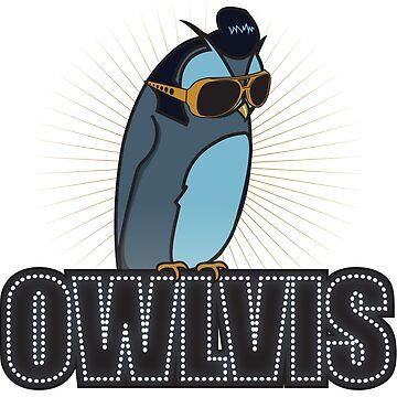 Owlvis by BenClark