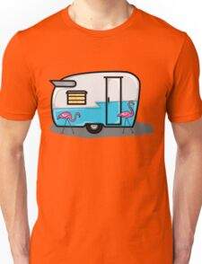 retro blue campers Unisex T-Shirt