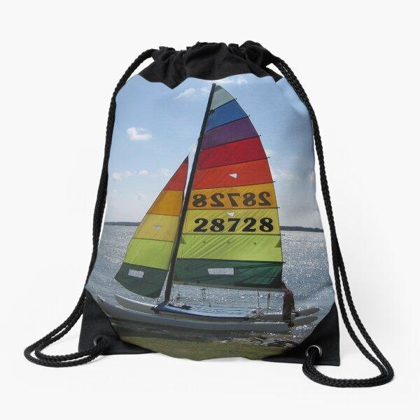 Catamaran Sailing Drawstring Bag