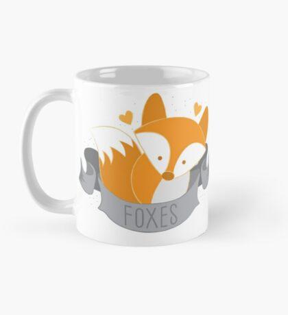 Foxes (LOVE BANNER) Mug