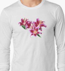 Stargazer Lily Heart T-Shirt