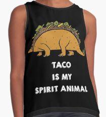 Taco is my Spirit Animal Contrast Tank
