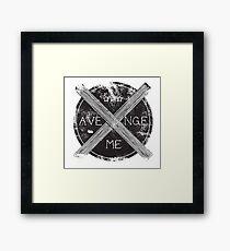 Avenge Me Framed Print