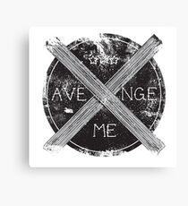 Avenge Me Canvas Print