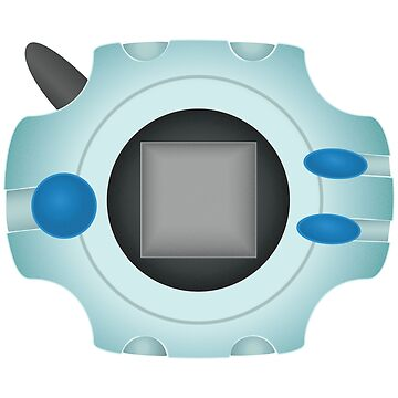 Digivice - Blue by holaemily