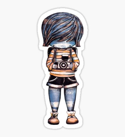 Smile Baby Photographer Sticker