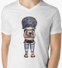 Smile Baby Photographer Mens V-Neck T-Shirt