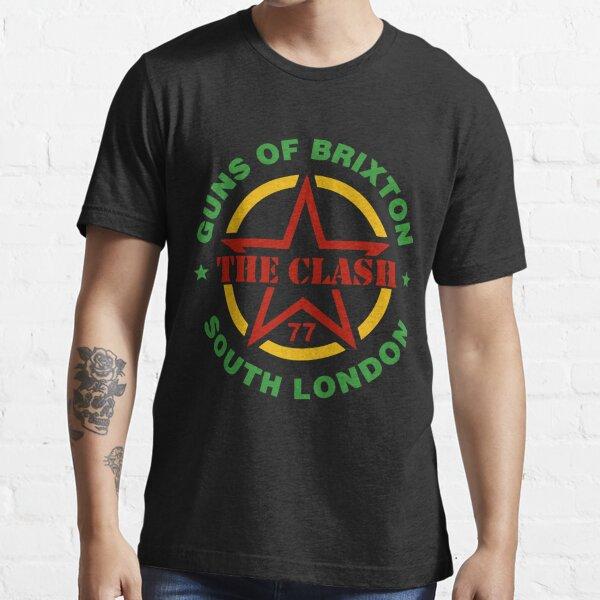 Camiseta de The-Clash-Vintage-Guns-of-Brixton Camiseta esencial