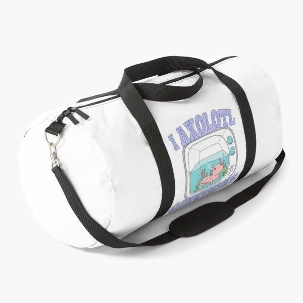 I axolotl questions, axolotl lover Duffle Bag