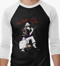 Gonzo- Fear and Loathing in Las Vegas parody Men's Baseball ¾ T-Shirt