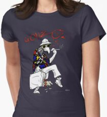 Gonzo- Fear and Loathing in Las Vegas parody Womens Fitted T-Shirt