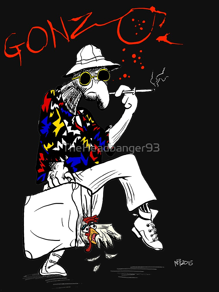 Gonzo- Fear and Loathing in Las Vegas parody by TheHeadbanger93