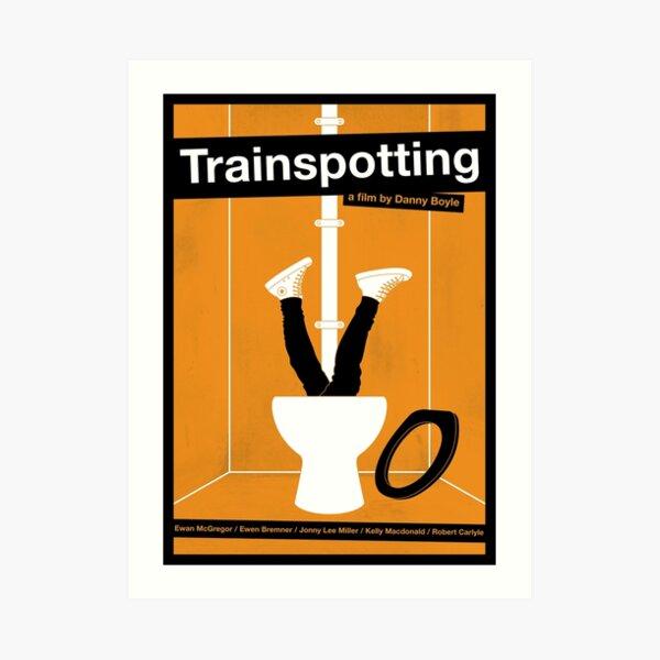 Cartel de película de Trainspotting Lámina artística
