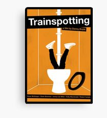 Trainspotting film poster Canvas Print