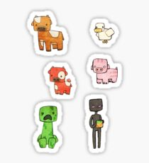 Minefriends Sticker