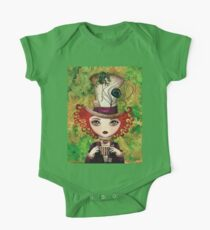Lady Hatter (w/background) One Piece - Short Sleeve