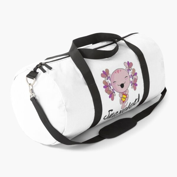 Snaxolotl, funny axolotl, axolotl lover Duffle Bag