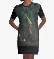 The Gift Graphic T-Shirt Dress