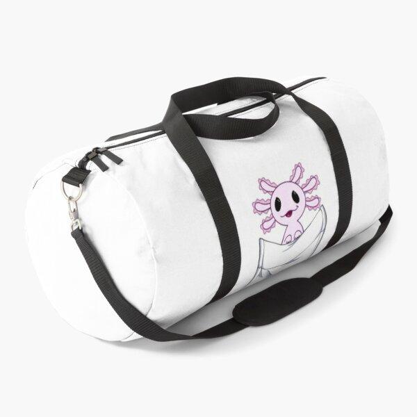 funny axolotl, axolotl art Duffle Bag