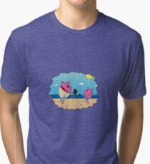 PiGgy on Vacation! Tri-blend T-Shirt