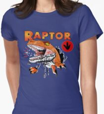 Ghost World raptor Women's Fitted T-Shirt