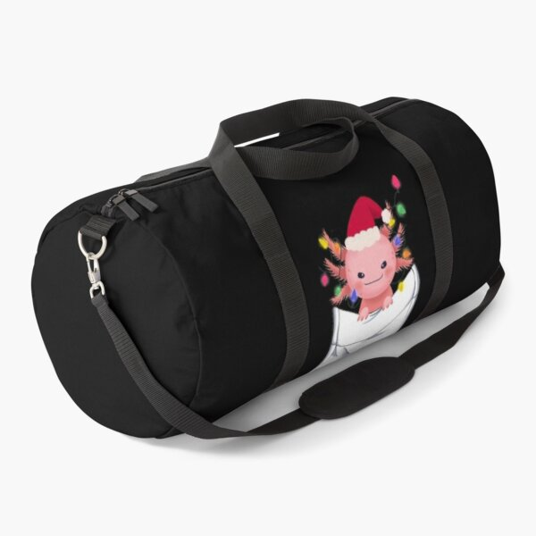 axolotl lover, axolotl pet christmas Duffle Bag