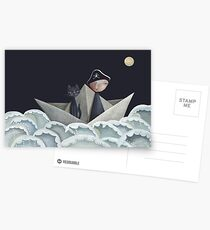 The Pirate Ship Postcards