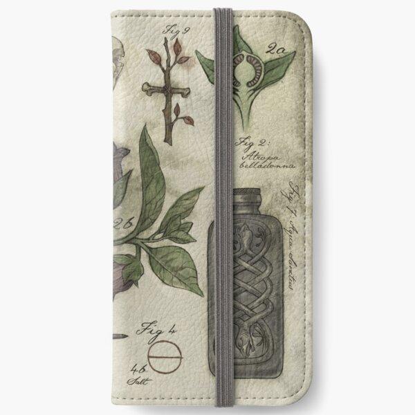 (Super)natural History - Hunter's artefacts iPhone Wallet