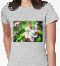essence of spring 2 Womens Fitted T-Shirt