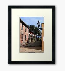 Fort Alley ~ A Very Old Street Framed Print