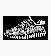 Yeezy Boost 350 - Transparent Photographic Print
