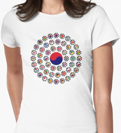 We Are Korea Multinational Patriot Flag Collective 1.0 T-Shirt