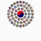 We Are Korea Multinational Patriot Flag Collective 1.0 by Carbon-Fibre Media