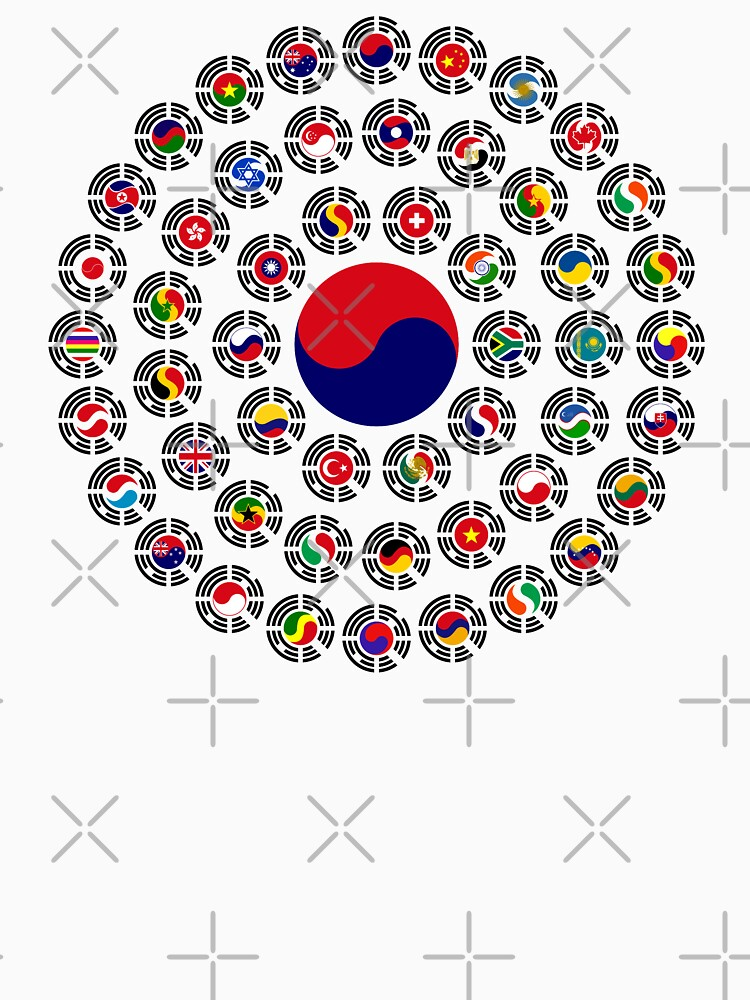 We Are Korea Multinational Patriot Flag Collective 1.0 by carbonfibreme