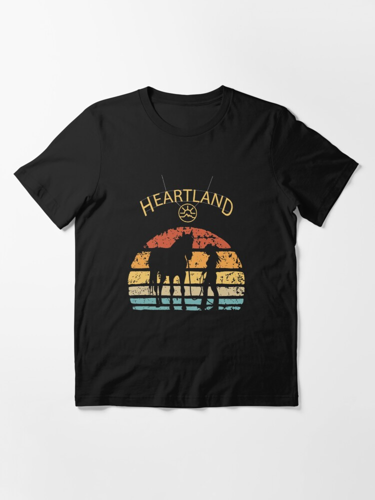 Alternate view of Heartland Uk,funny valentines day, funny happy new year,boxing day, heartland ranch alberta, duvet covers, comforter sets, duvet cover sets, diy floor pillow Essential T-Shirt