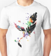 Feathers Slim Fit T-Shirt